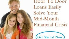 Door To Door Loans Easily Solve Your Mid-Month Financial Crisis | Chris Price\u2026