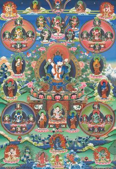 Peaceful deities of the Bardo