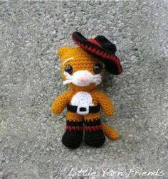 Crochet little puss