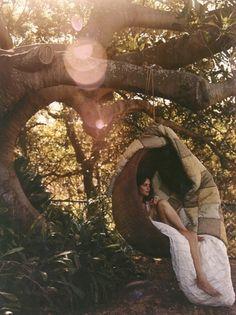 my backyard reading nook...someday :D