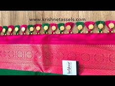 Traditional Saree Kuchu - Also known as Baby Kuchu or Table Kuchu, these saree tassel designs are ideal for light weight sarees & for women whose style state. Saree Jacket Designs, Saree Tassels Designs, Saree Kuchu Designs, Designer Blouse Patterns, Saree Blouse Patterns, Saree Jackets, Kurta Neck Design, Neckline Designs, Simple Sarees