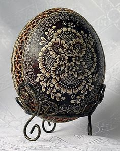 Now THAT'S An Easter Egg...An Ostrich Easter Egg...