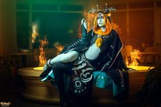 Amazing Midna cosplay by www.facebook.com/Jinglebooboo Photo and edit by www.facebook.com/weneals