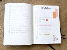 """second-year-studying: """"October bullet journal pages if anyone is in need of inspiration  """""""