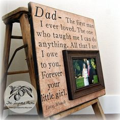 Father of the Bride Parents Thank You Gift by thesugaredplums, $75.00