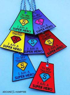 End of the School Year Award Ceremony- Ideas for teachers with a Superhero theme and end of the year activities to make the last week of school meaningful and memorable, but most of all fun! Ideal for elementary kids in 1st, 2nd, 3rd and even 4th grade.