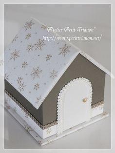 カルトナージュでクリスマス♪ : Petit Trianon *** cartonnage & interior ***