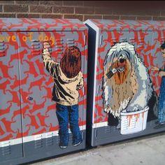 Unique street art on Whitecross St, EC1...^*