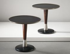Acclaimed architect and artist, Gio Ponti might be most remembered for his amazing chairs; but we found a set of tables that are worth a second look. Using his unique sense of space and functionality, Mr. Ponti designed these tables in 1950 with a modern look that'll never go out of style!