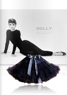 DOLLY STYLISH AUDREY HEPBURN