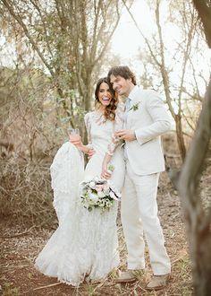 - Ian Somerhalder and Nikki Reed Rustic Wedding - EverAfterGuide