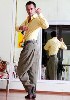 Pantaloni di Tango tango pantaloni pantaloni di AbrazosTangoWear