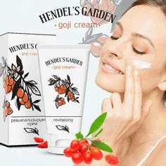 Marca GOJI Cream Facial Cremas antiarrugas antienvejecimiento Cool Skin Care Set j Care Skin Care Cream, Oily Skin Care, Goji, Pigmentation, Anti Aging Supplements, Prevent Wrinkles, Anti Aging Cream, Organic Skin Care, Good Skin
