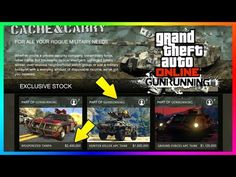 nice GTA ONLINE GUNRUNNING DLC - HOW MUCH MONEY YOU'LL NEED FOR ALL WEAPONIZED VEHICLES, BUNKERS & MORE!