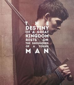 "I thought that it was quite fitting when they changed it from ""young boy"" to ""young man"". Fitting, but it made me realize that Merlin was growing up. My sweet, innocent happy Merlin was becoming a man. Colin Morgan, Merlin Fandom, Merlin Merlin, Bbc, It's Over Now, Merlin And Arthur, King Arthur, Fandoms, Thing 1"