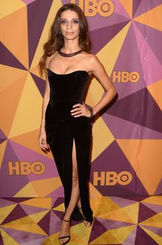 Angela Sarafyan wore an Ester Abner Resort 2018 strapless black velvet dress to the 2018 HBO's Official Golden Globe Awards After Party. She accessorized with a Jimmy Choo clutch & Maxior jewelry. Angela Sarafyan, Miss Independent, Strapless Dress Formal, Formal Dresses, Black Velvet Dress, Shining Star, Golden Globe Award, Celebrity Feet, Jimmy Choo
