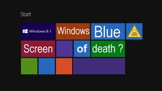 The weird technique of naming operating systems by Microsoft continues with the latest release of Windows 8.1 which is called Windows Blue. Why ....?
