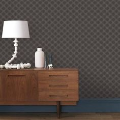 Designed by Alessandro Pollio this elegant geometric wallpaper design Circles was inspired by nature. He chose succulents as a reference as he explained