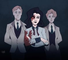 Another fantastic fan art of Burial at Sea