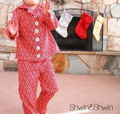 Free pattern: Christmas pajamas for the little ones · Sewing | CraftGossip.com