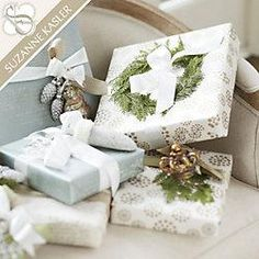 Winter wrapping ideas
