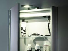 Mirror Bathroom Cabinet With Light And Shaver Socket
