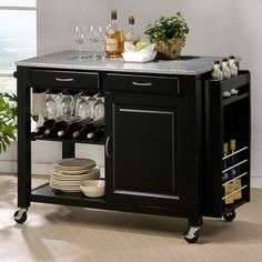 This is a nice kitchen island...