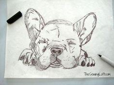 French Bulldog Pillow Project | The Sewing Loft | Bloglovin'