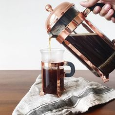 Strong copper game | #Bodum Copper French Press in stock online! Shop Bodum http://ift.tt/1JrqUJt 1-4 Day Shipping in Australia 7-10 Worldwide