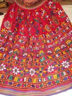 Vintage Kuchi Rabari Banjara Lehenga Tribal by jaisalmerhandloom, $199.00