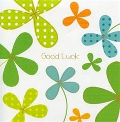 Picture of Good Luck Card - Good Luck