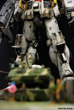 GUNDAM GUY: 1/35 RX-78-2 Gundam Ver. Ka [Season Part 1] - Diorama Build