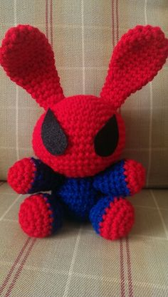 Spider-Man bunny http://uniqueecreations.storenvy.com