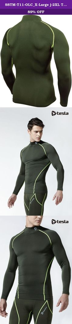 SSTM-T11-OLC_X-Large j-2XL Tesla New Men's Cool Compression long sleeve quick dry Running sports Baselayer Underwear underlayer climbing hiking hunting skin clothe. Coolgear shirts&pants are designed for all seasons (not for Warmth) Find your size on the chart below. If you prefer a looser fit, go up a size. Flat-lock seam It promotes excellent comfort and protection. Early recovery After workout, it will help you get well by controlling blood flow and preventing being swollen. Shield...