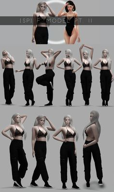 sims 4 cc // custom content pose pack // F. II by Sciophobis [SP] Sims 4 Couple Poses, Sims 4 Traits, Sims 4 Black Hair, The Sims 4 Cabelos, Studio Photography Poses, Sims 4 Characters, Sims 4 Toddler, Fashion Model Poses, Best Photo Poses