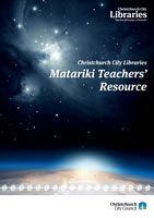 Cover: Matariki Teachers' Resource
