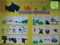 Classroom In Paradise: Art-Science Integration: Food Chains and Food Webs Science Vocabulary, Science Resources, Science Lessons, Science Art, Science Activities, Science And Nature, Life Science, Vocabulary Parade, Science Books