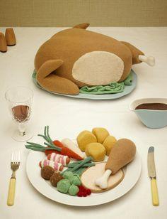 El menu para este invierno es comida tejida!!