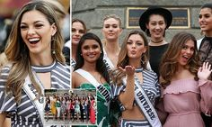 Miss Universe 2017 winner Demi-Leigh wows in Philippines | Daily Mail Online