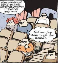 Belirsizlik Karikatürü Özer Aydoğan | Karikatürname