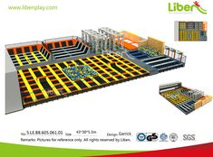 China Trampoline Park Builder-Design