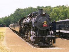 Frisco 2-8-4 Steam Locomotive 1522 - Kirkwood MO | Flickr - Photo Sharing!