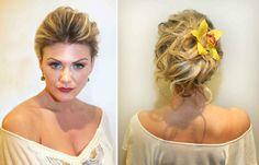 wedding hairstyles | Wedding day hairstyles