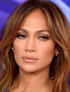 ♥ Pinterest: DEBORAHPRAHA ♥ Jennifer Lopez natural makeup look