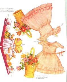 Shirley Temple paper doll clothes