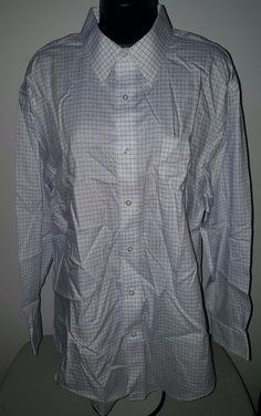 Boy/'s Youth White 100/% cotton Button Down Uniform Shirt L NWT 12//14 msrp $14.99