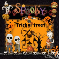 ★ Spooky trick or treat ★