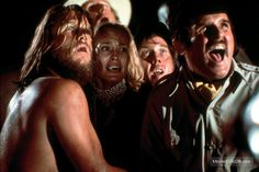 King Kong - Pubblicità ancora di Jeff Bridges, Jessica Lange, Charles Grodin e Rene Auberjonois