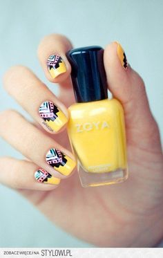 Cute boho nails