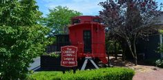 Spend the night in a train car. You'll love this unique Inn in South Haven, Michigan Best Places To Camp, Camping Places, The Places Youll Go, Places To Travel, Places To Visit, Michigan Vacations, Michigan Travel, Lake Michigan, Vacation Destinations